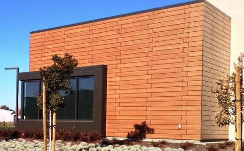 Trespa Wall Panel System : Michael murray company projects